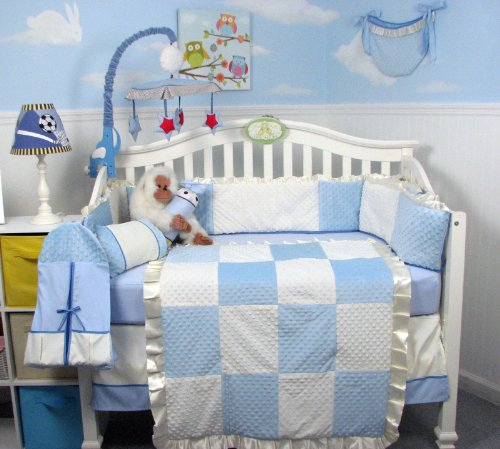 Boys Nursery Bedding Sets 7506 front