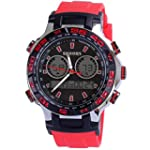 Mens military sports silicone jelly w...