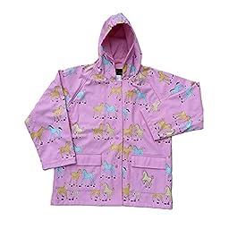 FoxFire Kid\'s Pony Raincoat, Pink, 2T