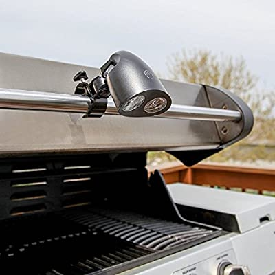 Essentials 2016 BBQ LED Grill Light - Super Bright - Weather Resistant - Easy to Install Adjustable Swivel Handle Mount -Perfect For Extending Your BBQ Hours and Season - Best Guaranty
