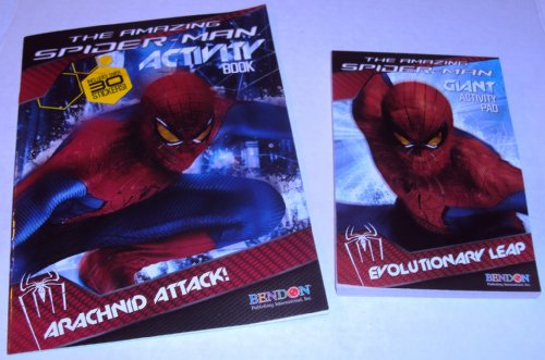 The Amazing Spider-man Giant Activity Book and Giant Activity Pad(set of 2)