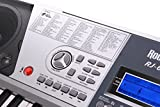 RockJam-RJ661-SK-Super-Kit-61-Tasten-LCD-Elektronisches-Unterrichts-Keyboard-mit-Stnder-Hocker-und-Kopfhrer