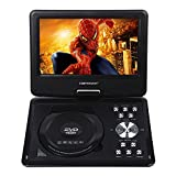DBPOWER Portable Dvd Player 9 5 Inch 180 Degree Swivel Support Analog
