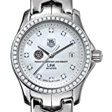 TAG HEUER watch:TCU TAG Heuer Watch - Women's Link with Diamond Bezel at M.LaHart