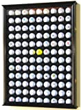 108 Golf Ball Display Case Cabinet Wall Rack Holder w/ UV Protection