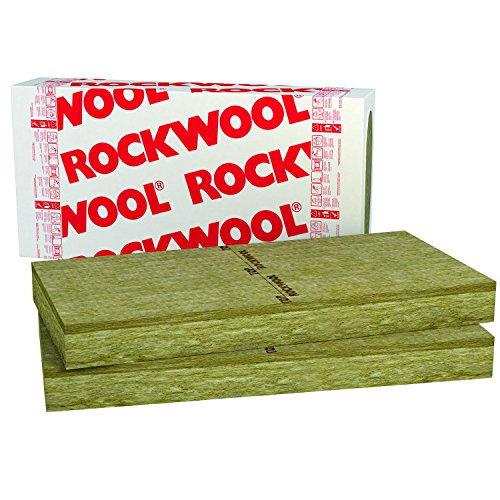 Rockwool Frontrock Max E 1,8m² Putzträgerplatte 120mm Rockwool Frontrock Max E Steinwolle Fassadendämmplatte Fassadendämmung VWS