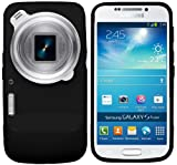 New Samsung Galaxy S4 Zoom 2013 SM-C1010 (All Models) Black Gel / Silicone / Hybrid Case Cover Skin With BONUS Sunny Savers Samsung Galaxy S4 Zoom Screen Protector Accessories Accessory By InventCase�