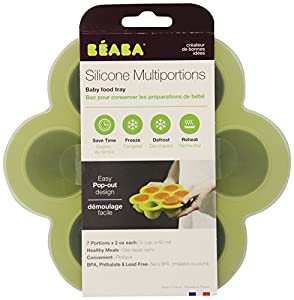BEABA Multiportions Containers, Green