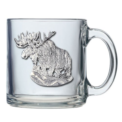 Moose Coffee Mug - Set Of 2