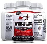 Tribulus Terrestris - 1000MG Maximum Strength - Increases Testosterone Production & Can Improve Your Libido and Stamina with NO Side Effects - 95% Steroidal Saponins, 80% Protodioscin - A Powerful Body Building Supplement - Order Risk Free Today with Our