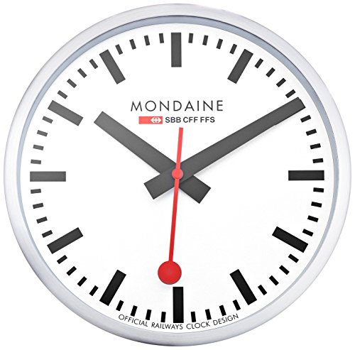 Mondaine a990 wall clock white dial home decor - Mondaine wall clocks ...
