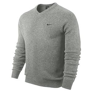 Nike Erwachsene Pullover Golf NW Lambswool V Neck, Grau, S, 502616