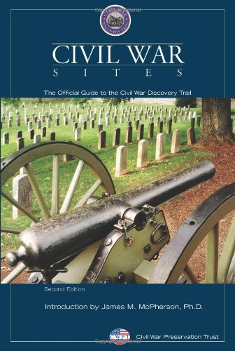 Civil War Sites: The Official Guide To The Civil War Discovery Trail front-706907