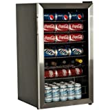 EdgeStar 103 Can and 5 Bottle Extreme Cool Beverage Cooler - Stainless Steel