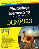 img - for Photoshop Elements 10 All in One For Dummies by Obermeier, Barbara, Padova, Ted [For Dummies,2011] (Paperback) book / textbook / text book