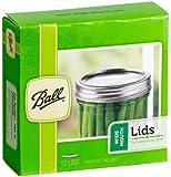 Ball Wide Mouth Jar Lids, Set of 12