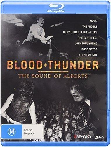 Blu-ray : Blood & Thunder: Sound of Alberts - Blood & Thunder: Sound of Alberts (Australia - Import, 2 Disc)