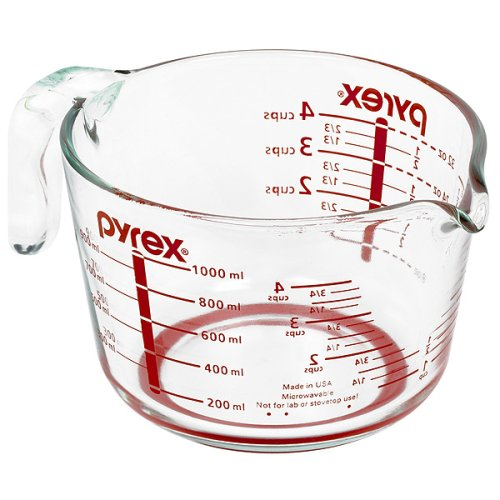 large measuring cup pyrex