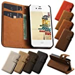 GLucky Soft Feel Leather Wallet Stand...