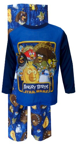 Angry Birds Star Wars Crew Toddler Pajama For Boys (2T) front-1010206