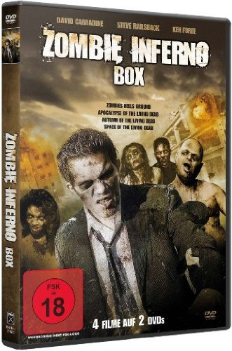 Zombie Inferno Box [2 DVDs]