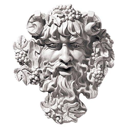 Design Toscano Bacchus God of Wine Greenman Wall Sculpture in Antique Stone (Bacchus Wine compare prices)