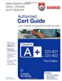img - for CompTIA A+ 220-801 and 220-802 Authorized Cert Guide (3rd Edition) book / textbook / text book