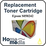 Home Media, Epson S050242 - Yellow Toner Cartridge for, Epson Aculaser C4200, C4200DN, C4200DTN