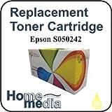 Home Media, Epson S050242 - Yellow Toner Cartridge for, Epson Aculaser C4200, C4200DN, C4200DTN