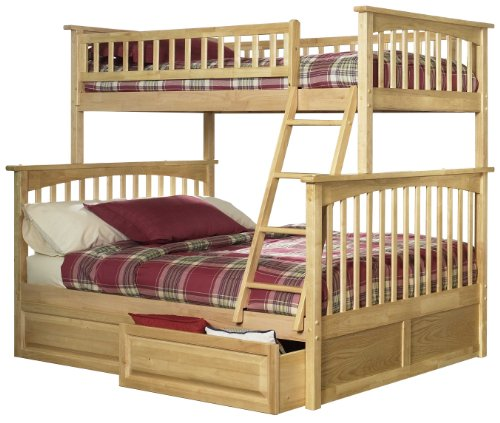 Bunk Beds Twin Over Full 5254 front