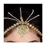 Imlistreet Floral Kundan Maatha Patti