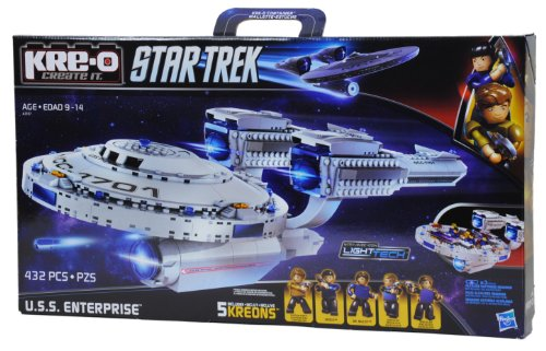 KRE-O Star Trek USS Enterprise Construction Set A3137