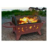 Landmann-Northern-Lights-XT-Stars-Moons-Fire-Pit-Georgia-Clay