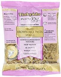 Tinkyada Gluten Free Organic Brown Rice Pasta Spirals, 12-Ounce (Pack of 6)