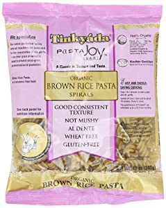 Tinkyada Brown Rice Spirals Gluten Free, 12-ounces (Pack of6)