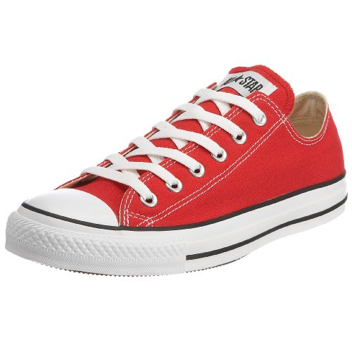 CONVERSE Unisex-Child Chuck Taylor All Star Core Ox Trainers 015810-34-4 Rouge 2.5 UK, 35 EU