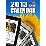 2013 US Calendar - Daily Planner and Organizer, Websites and more for Kindle Users ~ Andreas Ceatos