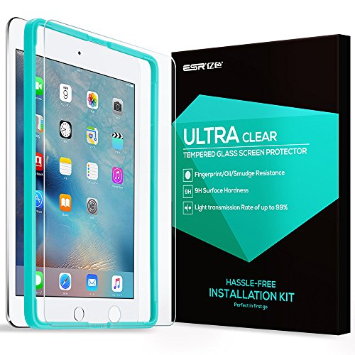 [with Free Installation Tool] iPad Air 2 Screen Protector,iPad Air / iPad Pro 9.7 Screen Protector,ESR® Tempered Glass Screen Protector Protection for Apple iPad Air/iPad Air 2/iPad Pro 9.7