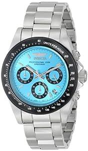 Invicta Men's 15589 Speedway Analog Display Japanese Quartz Silver Watch