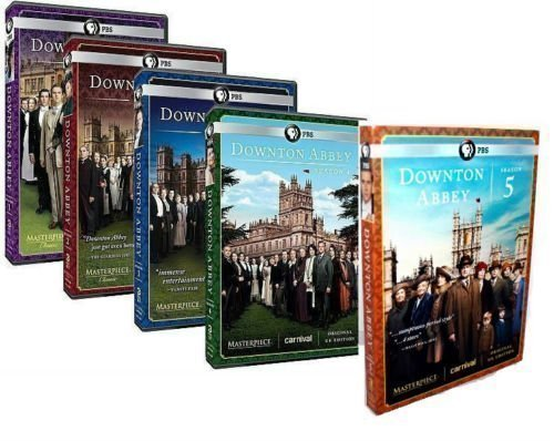 Masterpiece Classic: Downton Abbey - Seasons 1-5 Complete Collections (DVD, 15-Disc, 2015)