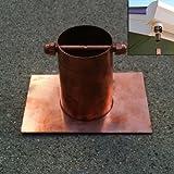 Amazon Com Stanwood Rain Chain Copper Basin Bowl For