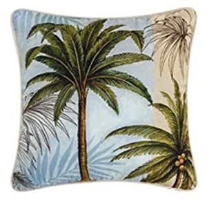 Decorative Pillow Palm Tree : Amazon.com: Throw Pillow - Palm Trees - 18 x 18