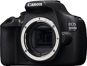 Canon EOS 1200D + 18-55mm - Cámara digital (18 MP, SLR Kit, CMOS, Canon EF, Canon EF-S, TTL, Servo Auto Focus), color negro `(Importado)