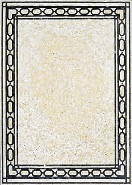 Beautiful Rug Marble Mosaic Stone Art Tile Home Decor Floor Wall