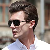 MERRY'S HOT Fashion Driving Polarized Sunglasses for Men Square 45mm glasses S8714