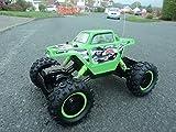 Rock Crawler Stunt Radio Remote Control Car 4 Wheel Drive