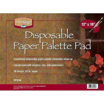 Paper Palette Pad Size: 12