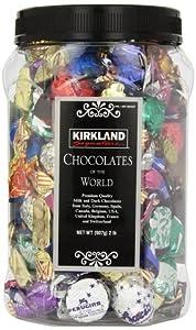 Kirkland Signature Chocolates Of The World Chocolate Holiday Assortment, 4 Pound , KIRK-w3se