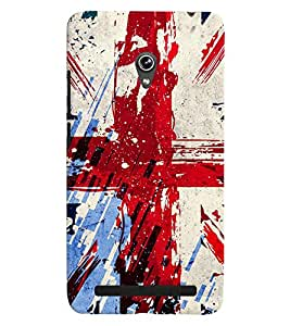 GADGET LOOKS PRINTED BACK COVER FOR Asus Zenfone 6 MULTICOLOR
