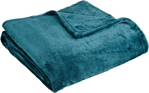"Lowest Prices! Northpoint Cashmere Plush Velvet Throw, Teal, 50"" x 60"""